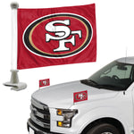 San Francisco 49ers Flag Set 2 Piece Ambassador Style