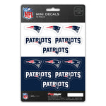 New England Patriots Decal Set Mini 12 Pack