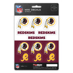 Washington Redskins Decal Set Mini 12 Pack
