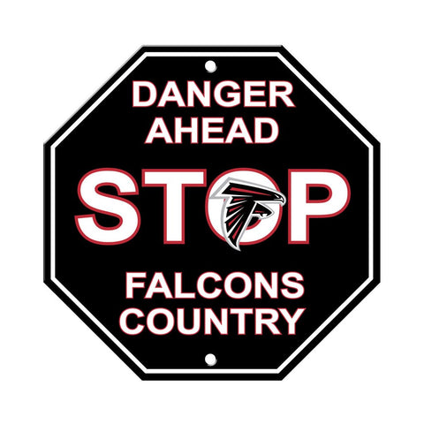 NFL Atlanta Falcons Stop Sign