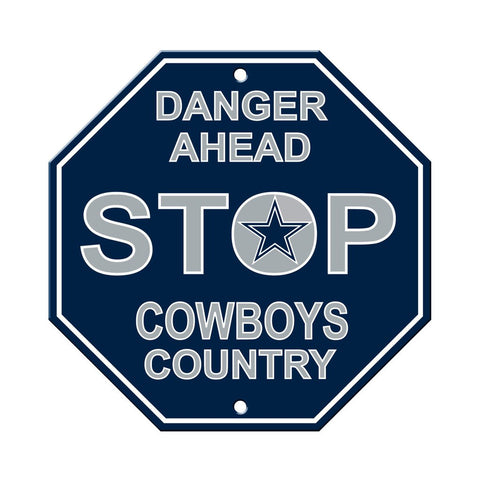 NFL Dallas Cowboys Stop Sign