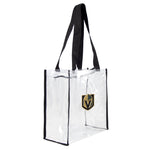 Vegas Golden Knights Tote Clear Square Stadium