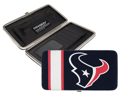 Houston Texans Shell Mesh Wallet