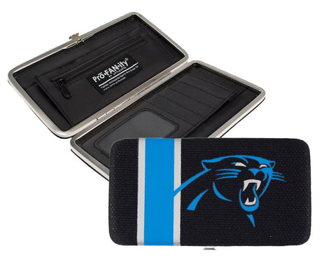 Carolina Panthers Shell Mesh Wallet