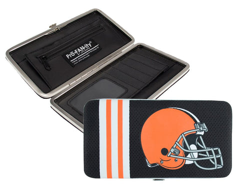 Cleveland Browns Shell Mesh Wallet