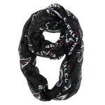 Atlanta Falcons Scarf Infinity Style Alternate