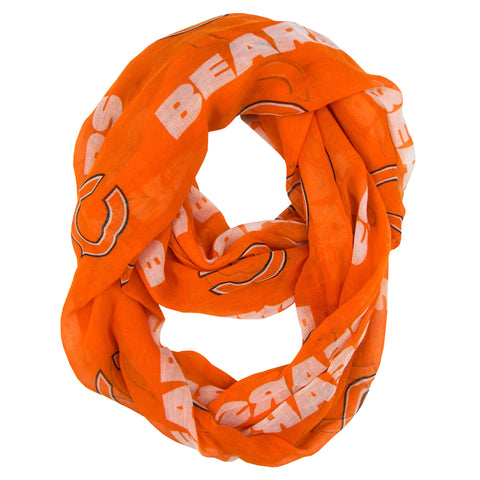 Chicago Bears Scarf Infinity Style Alternate
