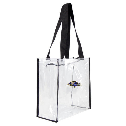 Baltimore Ravens Clear Square Stadium Tote