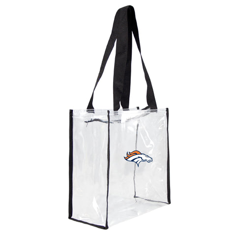 Denver Broncos Clear Square Stadium Tote