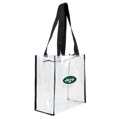 New York Jets Clear Square Stadium Tote