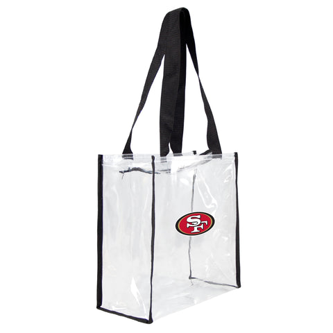 San Francisco 49ers Clear Square Stadium Tote