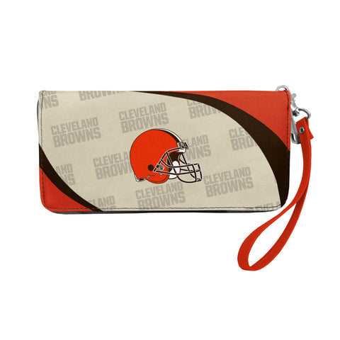 Cleveland Browns Wallet Curve Organizer Style