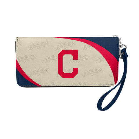 Cleveland Indians Wallet Curve Organizer Style