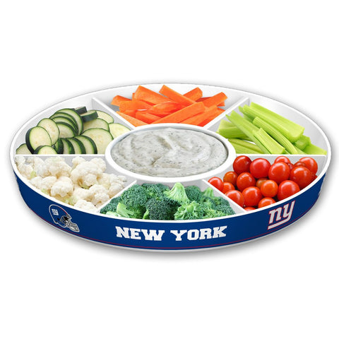 NEW YORK GIANTS PARTY PLATTER