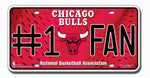 Chicago Bulls License Plate #1 Fan