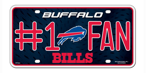 Buffalo Bills License Plate #1 Fan