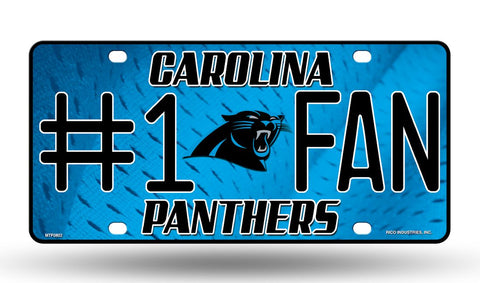 Carolina Panthers License Plate #1 Fan