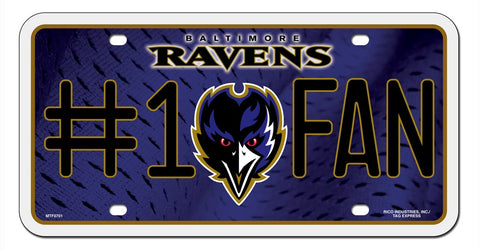 Baltimore Ravens License Plate #1 Fan