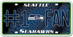 Seattle Seahawks License Plate #1 Fan