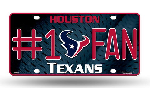 Houston Texans License Plate #1 Fan