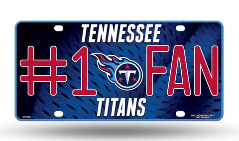 Tennessee Titans License Plate #1 Fan