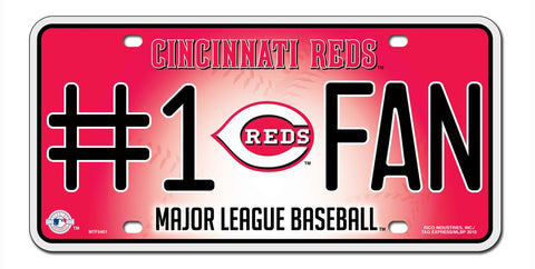 Cincinnati Reds License Plate #1 Fan