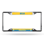 UCLA Bruins License Plate Frame Chrome EZ View