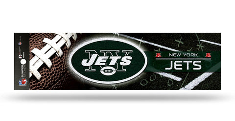 New York Jets Decal Bumper Sticker Glitter