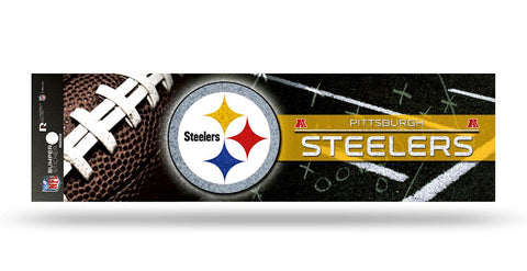 Pittsburgh Steelers Decal Bumper Sticker Glitter