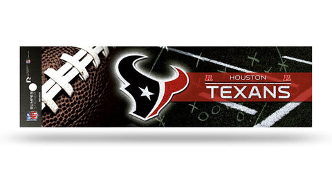Houston Texans Decal Bumper Sticker Glitter