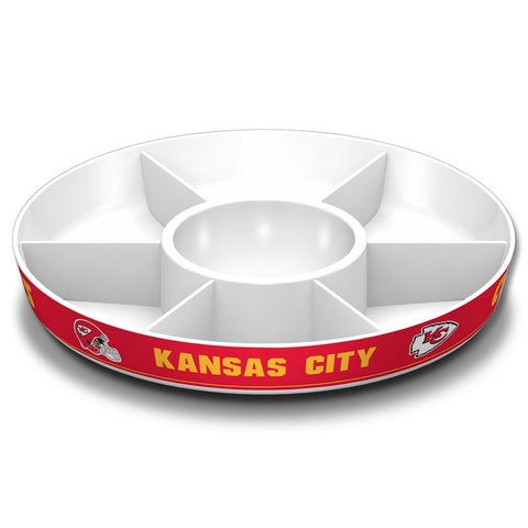 NFL KANSAS CITY CHIEFS PARTY PLATTER