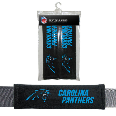 NFL Carolina Panthers Seat Belt Pads
