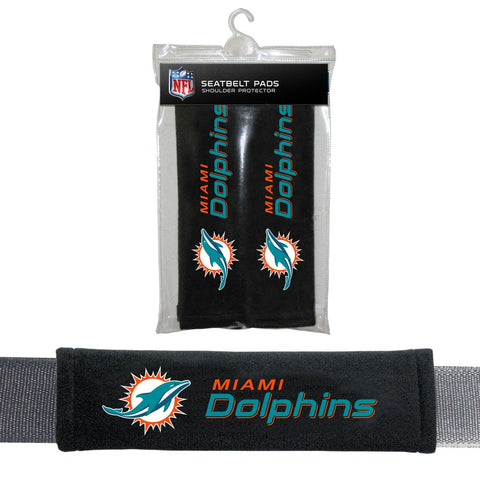 NFL Miami Dolphins Seat Belt Pads