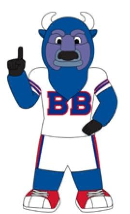 Buffalo Bills 7 Ft Tall Inflatable Mascot