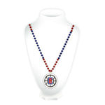 Clippers Sport Beads With Medallion