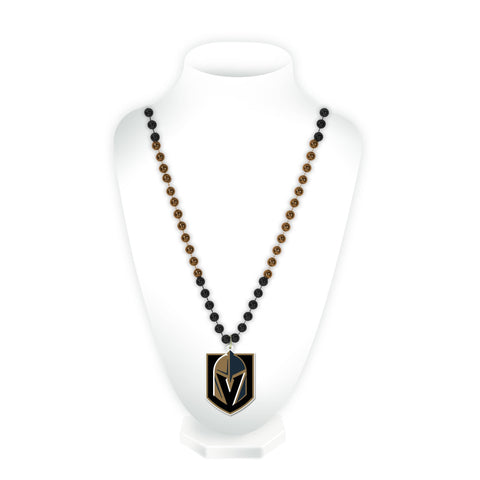 Las Vegas Golden Knights Sport Beads With Medallion
