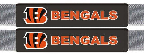 Cincinnati Bengals Leather Seat Belt Pads