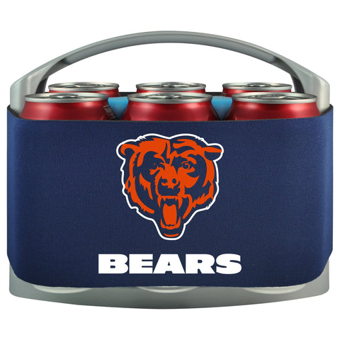 Chicago Bears Cooler With Neoprene Sleeve And Freezer Component
