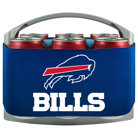 Buffalo Bills Cooler With Neoprene Sleeve And Freezer Component