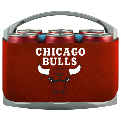 Chicago Bulls Cooler With Neoprene Sleeve And Freezer Component
