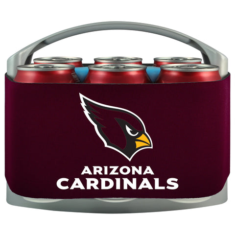 Arizona Cardinals Cooler With Neoprene Sleeve And Freezer Component