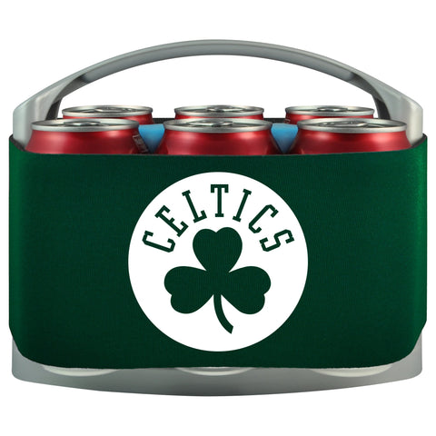 Boston Celtics Cooler With Neoprene Sleeve And Freezer Component