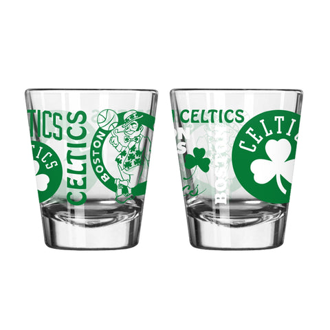 Boston Celtics 2Oz Spirit Shot Glasses