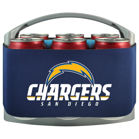 Los Angeles Chargers Cooler With Neoprene Sleeve And Freezer Component