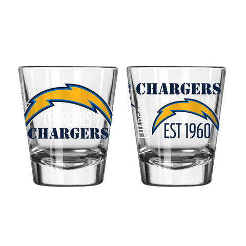 Los Angeles Chargers 2Oz Spirit Shot Glasses