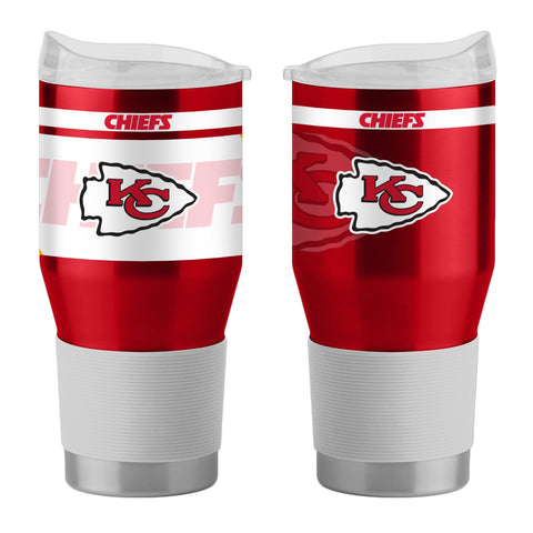 Kansas City Chiefs 24Oz Ultra Twist Tumblers - 18/8 Steel Vacuum Insulated With High Lip Slider Lid