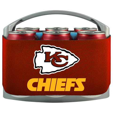 Kansas City Chiefs Cooler With Neoprene Sleeve And Freezer Component