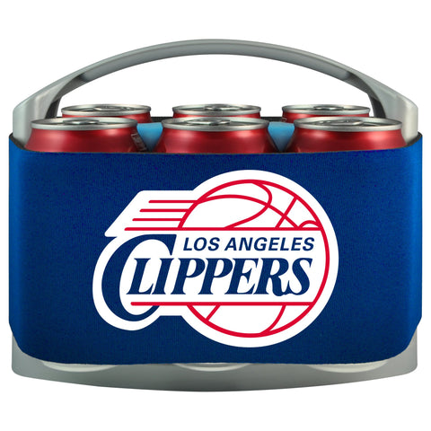 Los Angeles Clippers Cooler With Neoprene Sleeve And Freezer Component