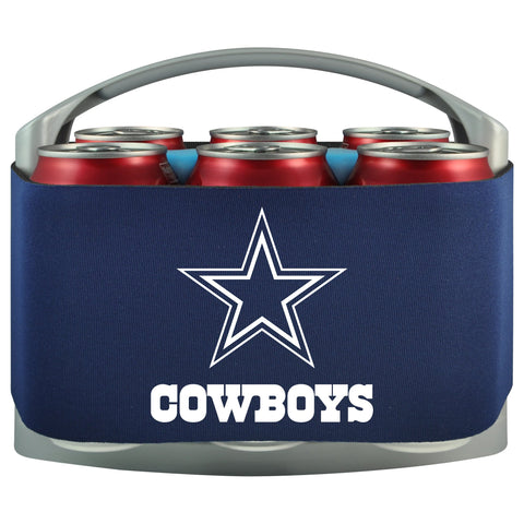 Dallas Cowboys Cooler With Neoprene Sleeve And Freezer Component