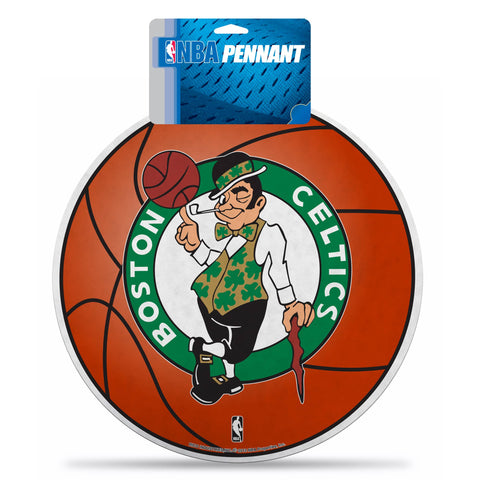 Celtics Die Cut Basketball W/Header